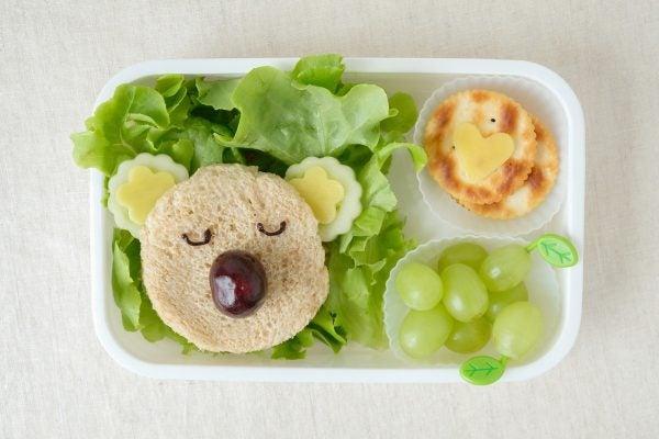 Bocadillos Fríos o Sandwiches para Fiestas para niños koala