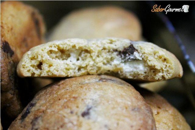 Cookies de dos chocolates