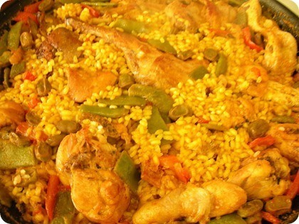 arroz pollo