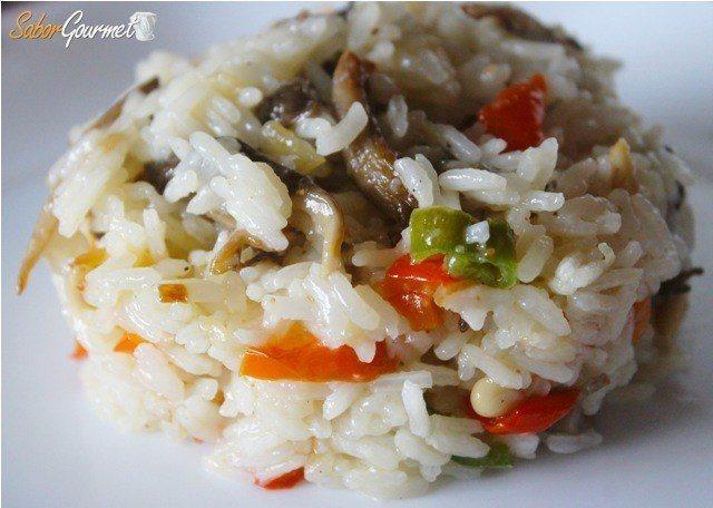 arroz thai con verduras