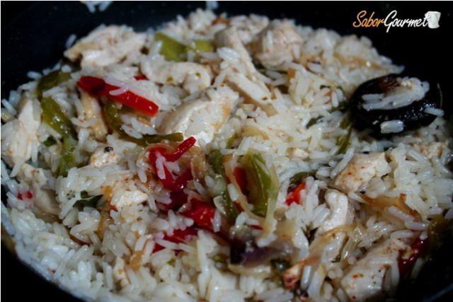 arroz thai receta