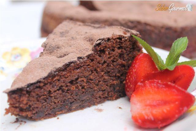 bizcocho chocolate fresa