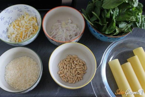 canelones-espinacas-ingredientes