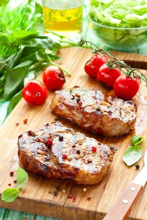 Carne vaca buey solomillo ternera