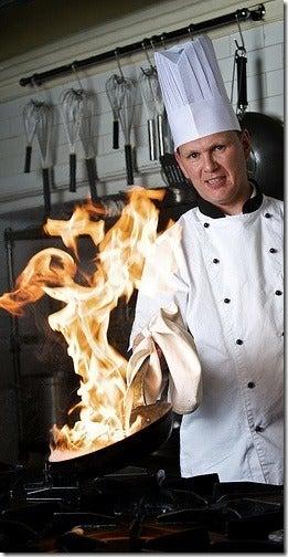 chef flambeado