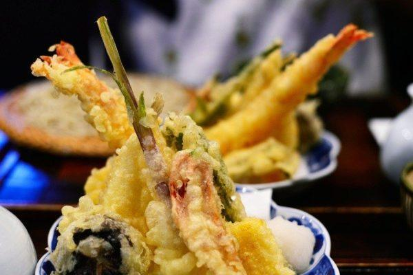 Cocina japonesa tempura