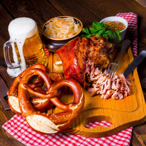 Comida y bebida oktoberfest