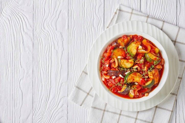 Comidas para preparar el dia de antes en navidad pisto de verduras