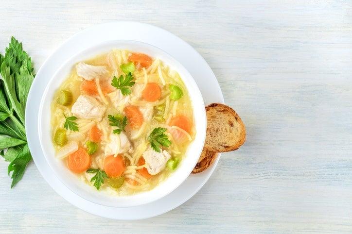 Comidas para preparar el dia de antes en navidad sopa de verduras