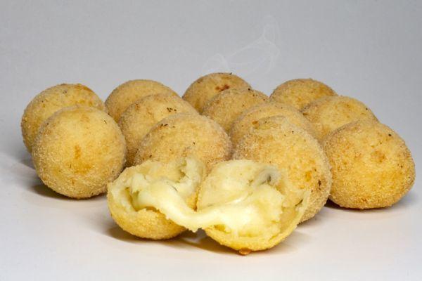 Bolas de queso fritas