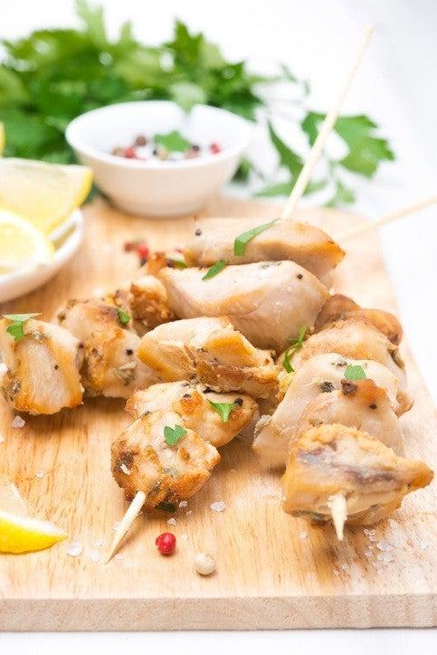 Como hacer brochetas.de pollo preparacion