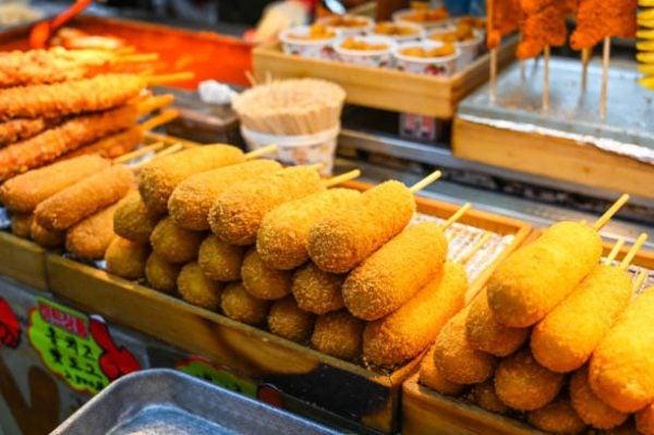 Como hacer corn dogs coreanos 2