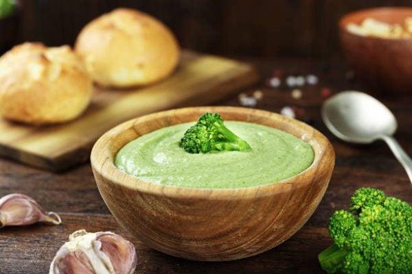 Como hacer crema de brocoli con pasta
