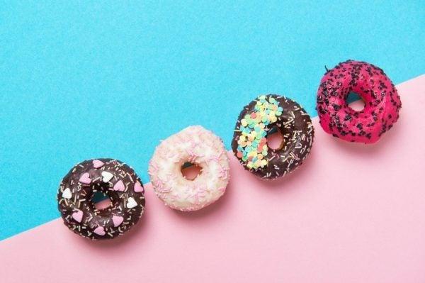 Como hacer donuts para san valentin decorados