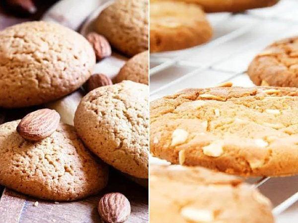 Receta galletas de almendra