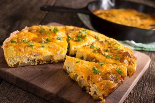 Como hacer tortilla de patatas vegana