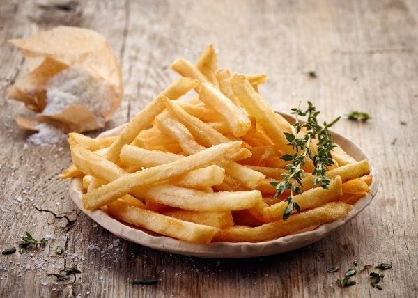 Como_hacer patatas fritas freidora aire