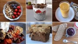 Desayunos saludables y ricos sin azúcar añadido
