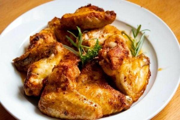 Pollo cocinado