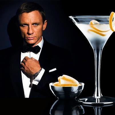 dry martini james bond