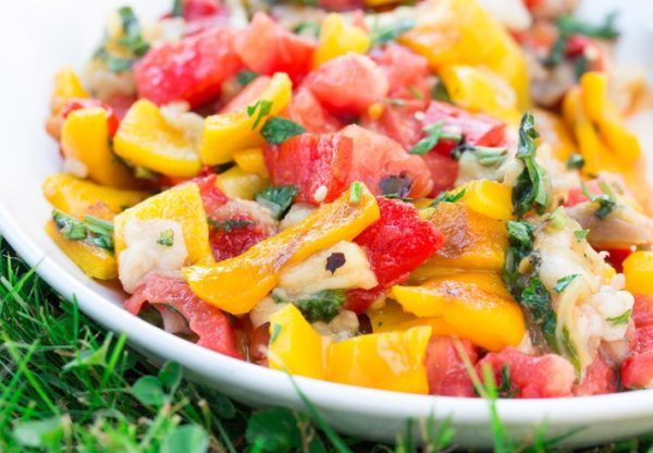 Ensaladas coloridas como dar color a la ensalada mango