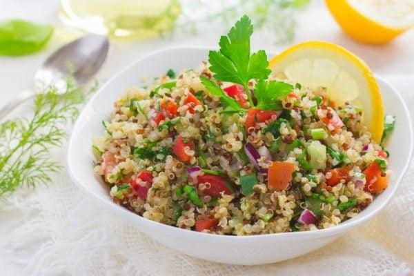 Ensaladas trucos y recomendaciones quinoa