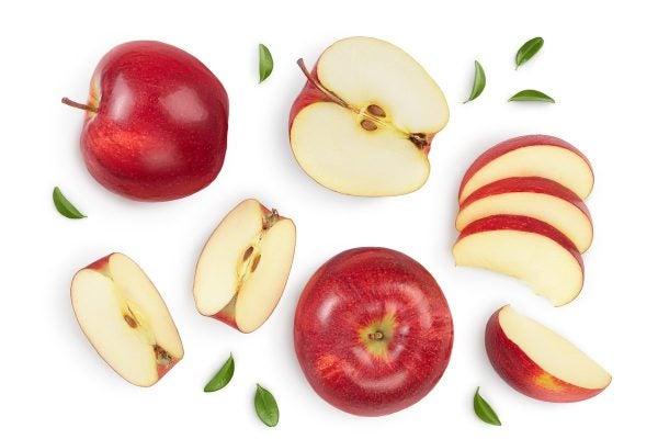 Entrantes frios faciles manzana
