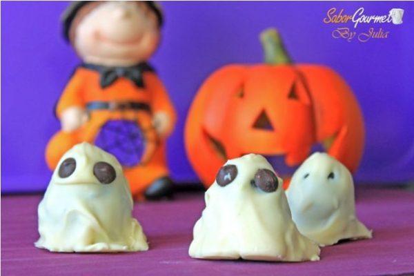 fantasmas oreo halloween