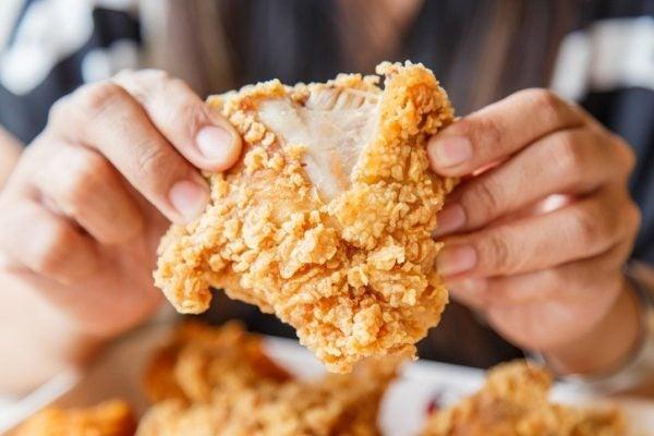 Hacer pollo frito ingredientes