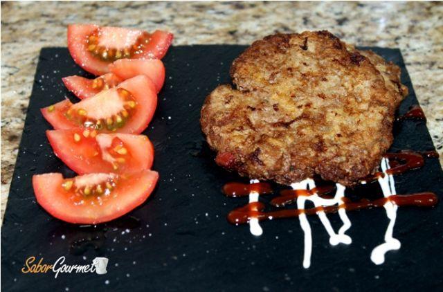 hamburguesas jamón serrano