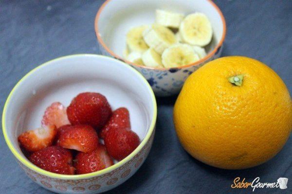helado-fresa-platano-ingredientes
