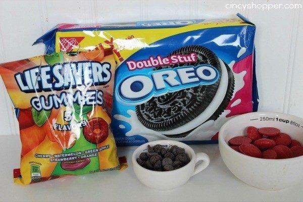 manualidades-halloween-ojos-con-galletas-oreo-ingredientes