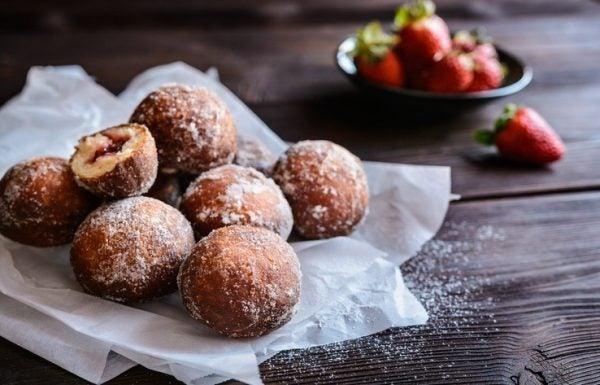 Mejores recetas berlinas fresas