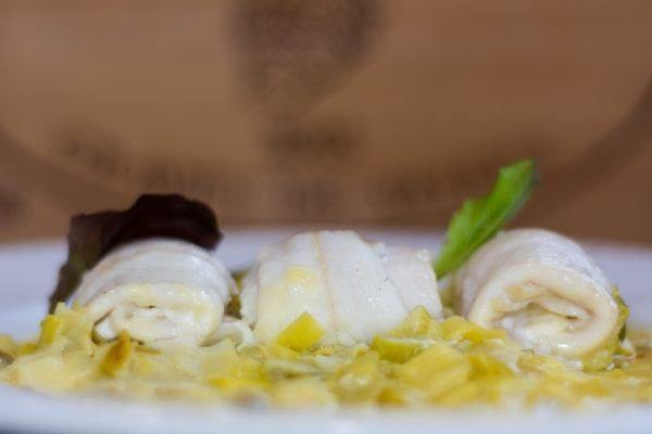 Mejores recetas pescado lenguado puerros
