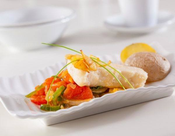 Mejores recetas pescado mero verduras