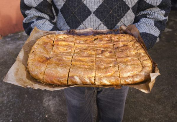 Menu semana santa empanada gallega