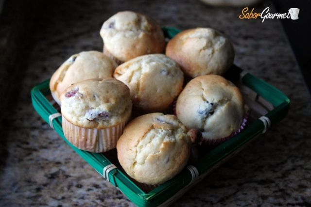 muffins arandanos-chocolate blanco