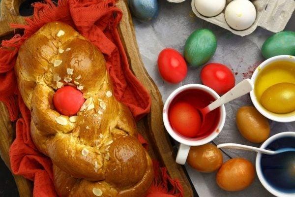 Pan dulce griego