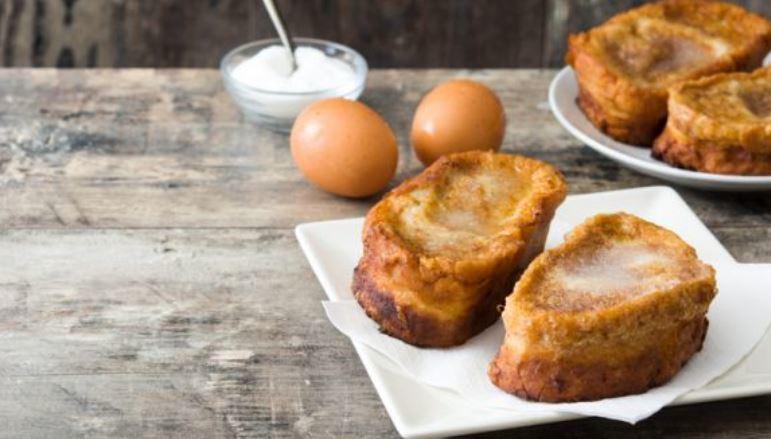 pan torrijas para receta de cuaresma