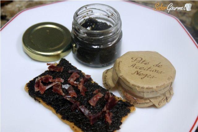 pate de aceituna negra con jamon