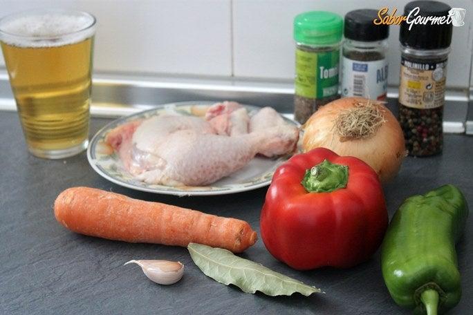 pollo-a-la-cerveza-ingredientes