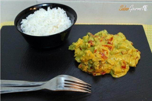 pollo curry tikka masala