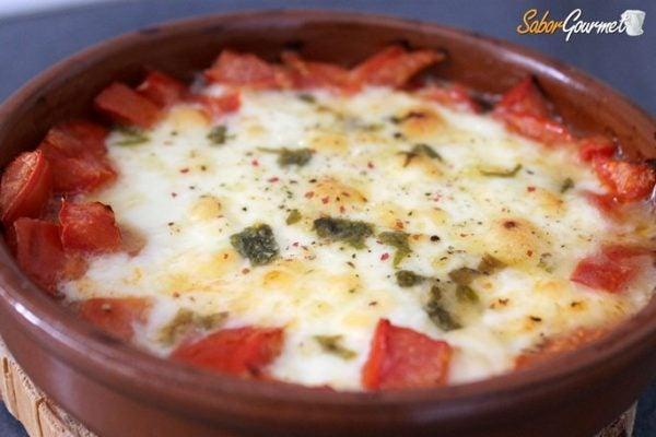 provolone-al-horno-tomate
