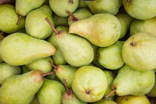 Que frutas y verduras comer en diciembre calendario de temporada peras