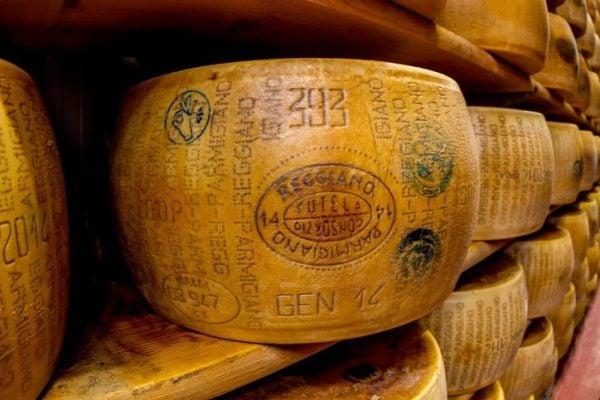 Queso parmesano Parmigiano Reggiano