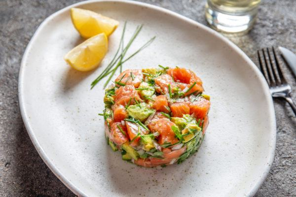 Receta ceviche salmon