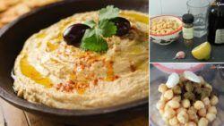 Receta humus | Cómo hacer hummus casero rápido y fácil