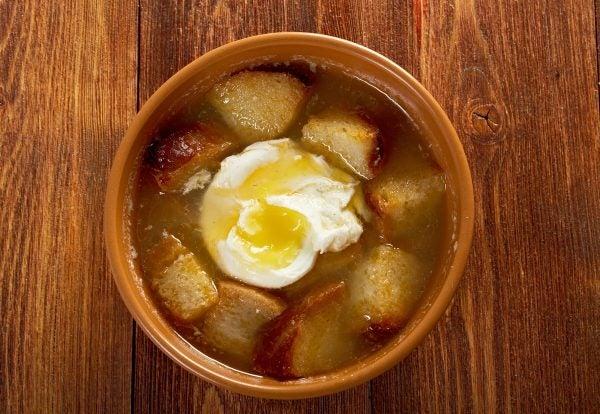 Receta de sopa castellana paso a paso