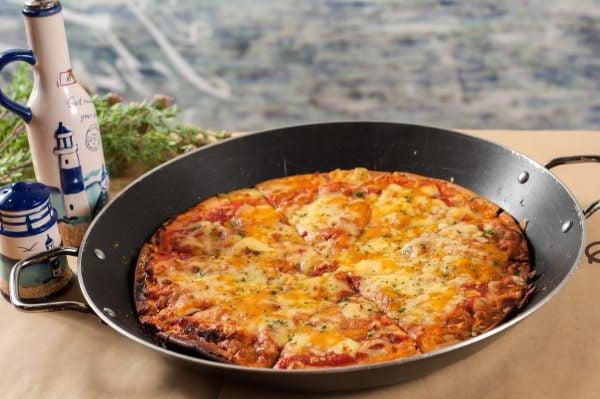 Receta keto pizza facil rapido