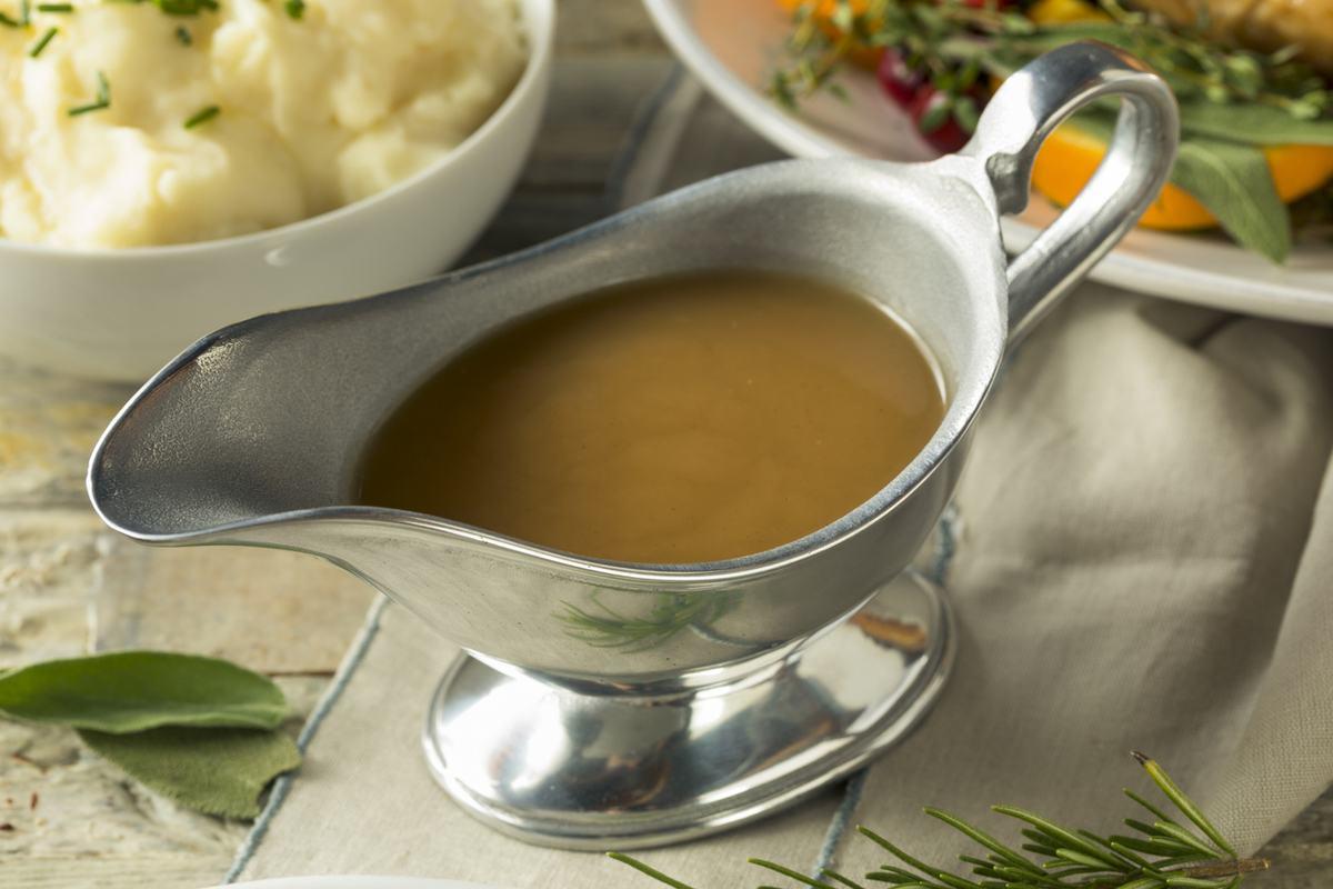 Receta salsa gravy accion de gracias